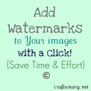 add watermarks to images fast