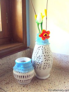 DIY Clay Pots