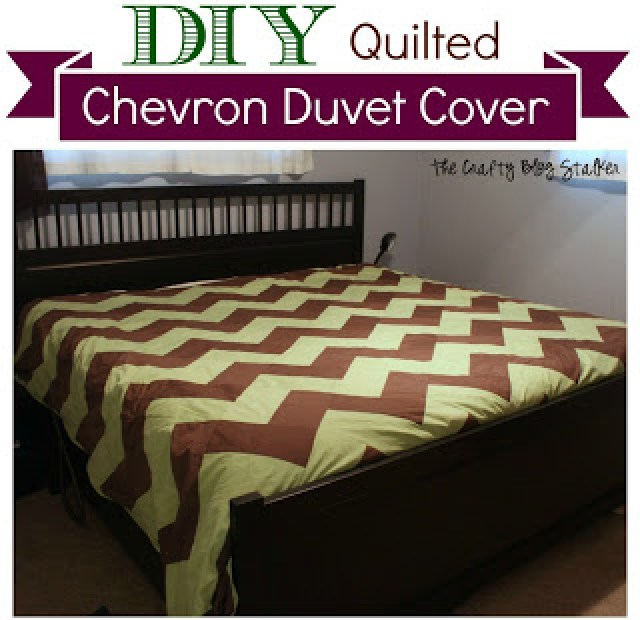 chevron quilted cover