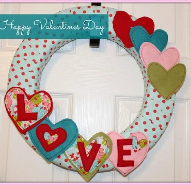hearts wreath
