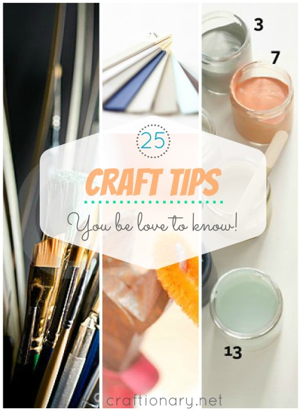 craft tips