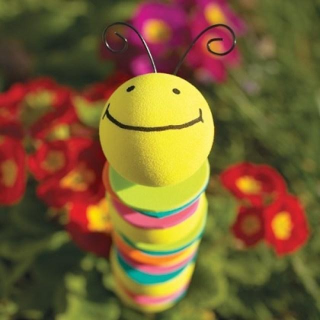 foam caterpillar