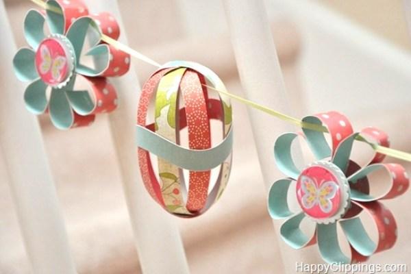 paper DIY garland