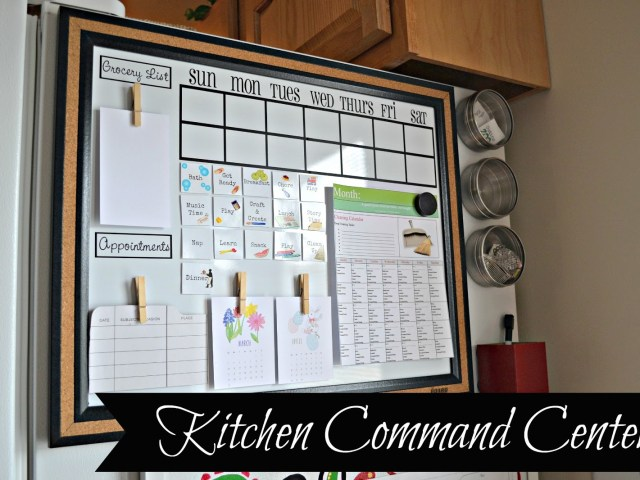 KITCHEN COMMAND CENTER