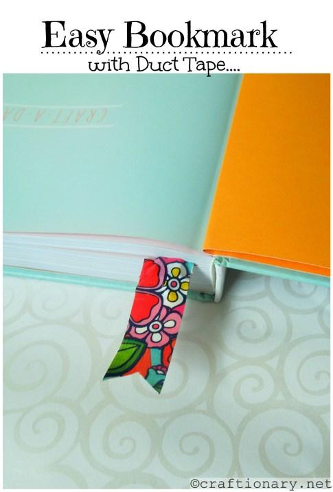 diy easy bookmark