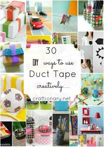 duct tape craft tutorials