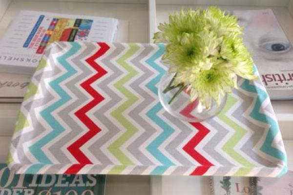 fabric DIY tray