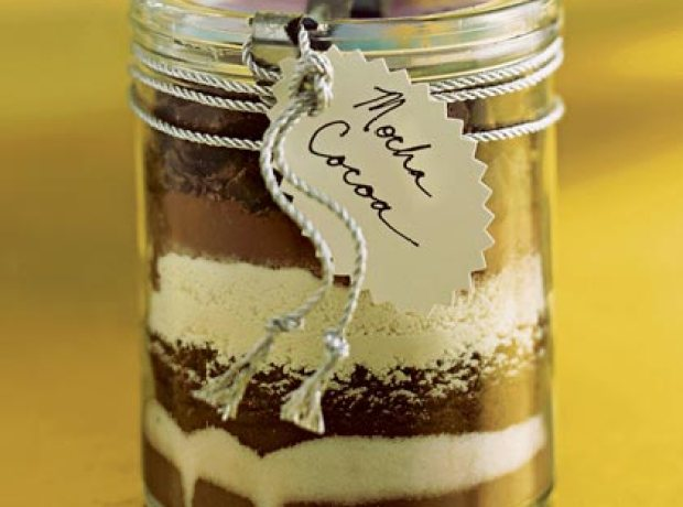 handmade gift cocoa mocha