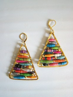 Craftionary handmade gift DIY earrings