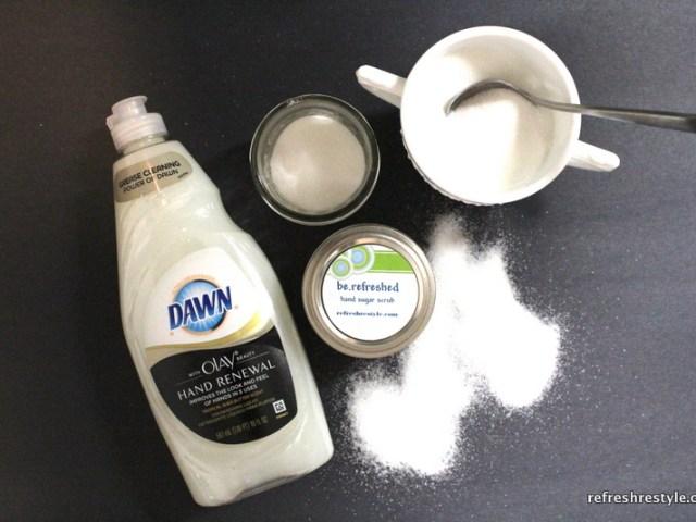 handmade gift sugar scrub