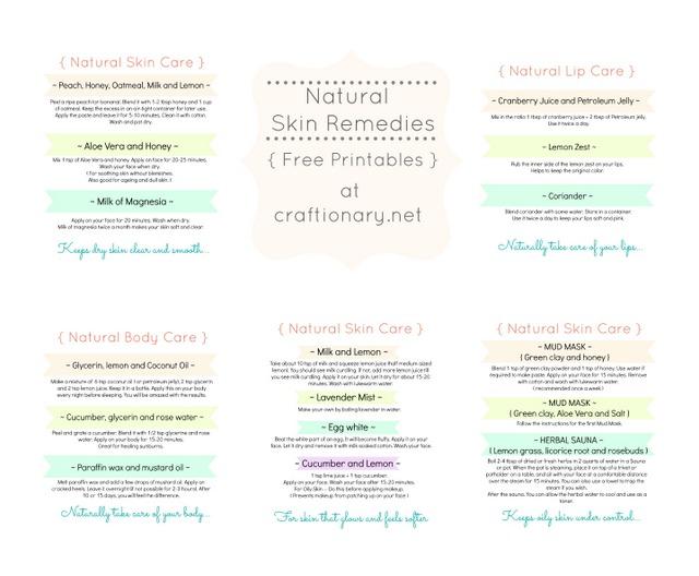 natural skin remedies 2
