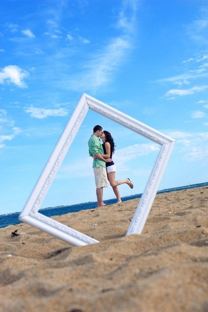 beach photo idea