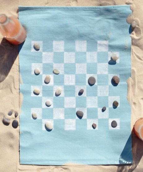stamp towel game idea