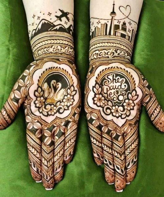bridal-dulhan-wedding-modern-mehndi-designs-2020