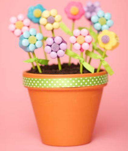 cake pops flower pop