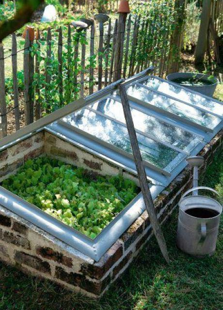 DIY mini greenhouse tutorial