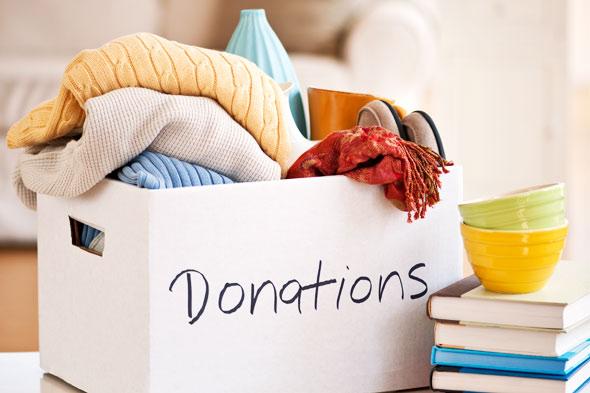 DIY donation box