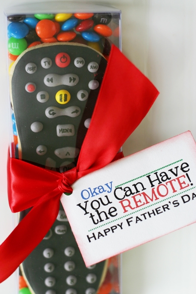 fathers day cookies remote