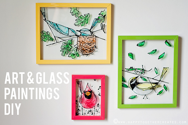 GLASS PAINTINGS ART