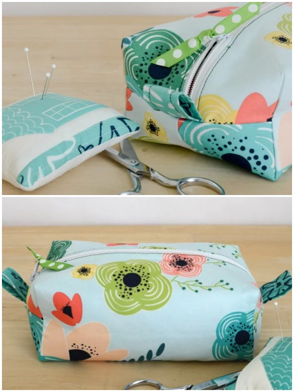 how-to-make-boxed-shaped-zipper-pouch-bag