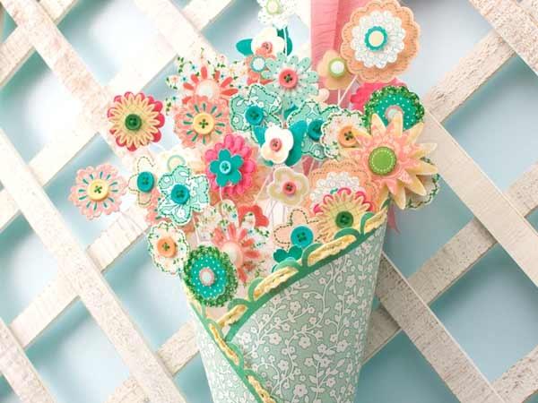 paper flowers bouquet