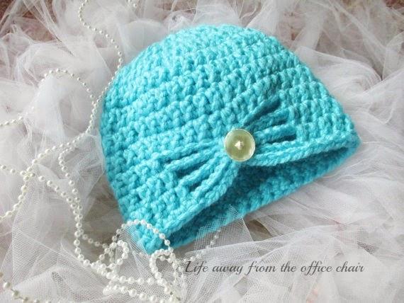 crochet butterfly beanie pattern