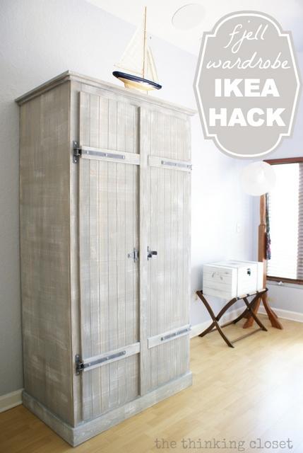 ikea hack closet
