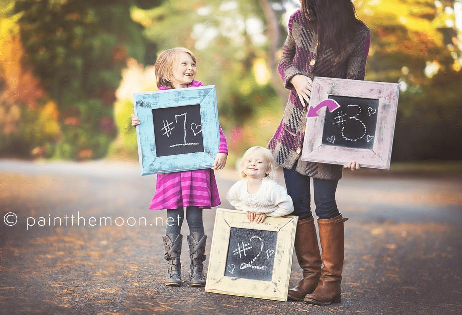 Thanksgiving Pregnancy Announcement
