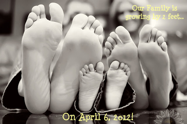 growing family announcement idea