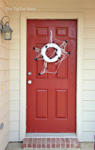 spider wreath tutorial