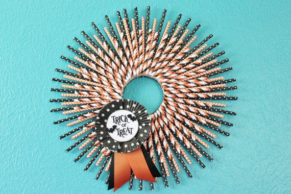 straw wreath tutorial