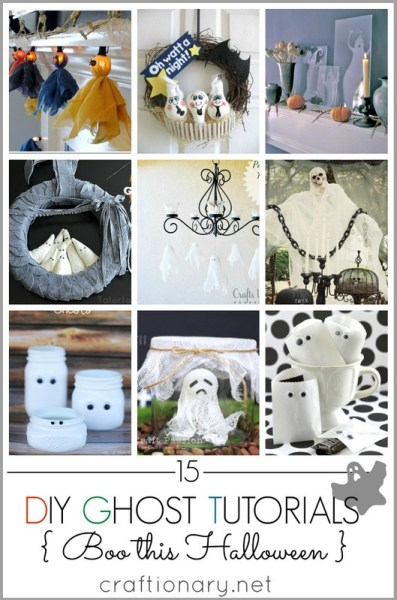 DIY Halloween Ghost Tutorials