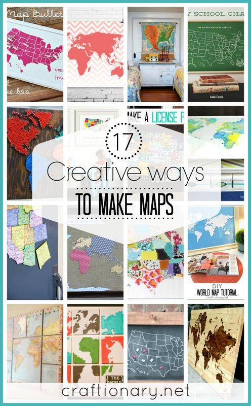 DIY map tutorials