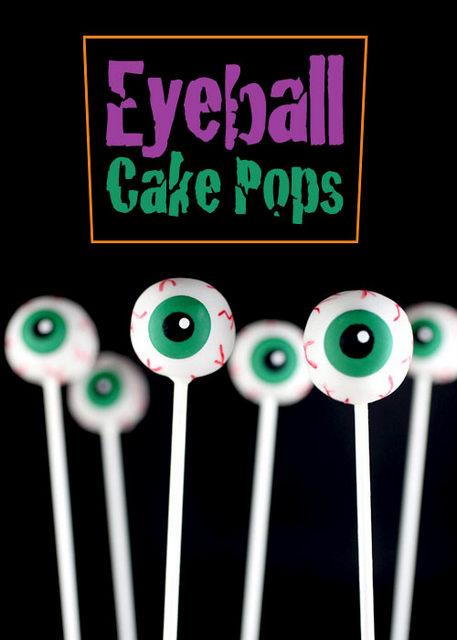 eyeball cake pops