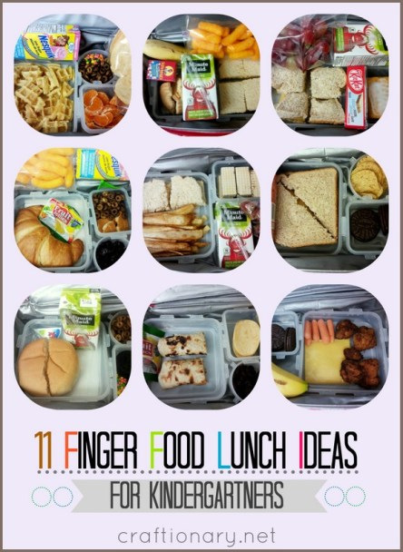 11 Toddler finger food lunches
