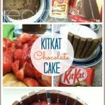 kitkat cake recipe