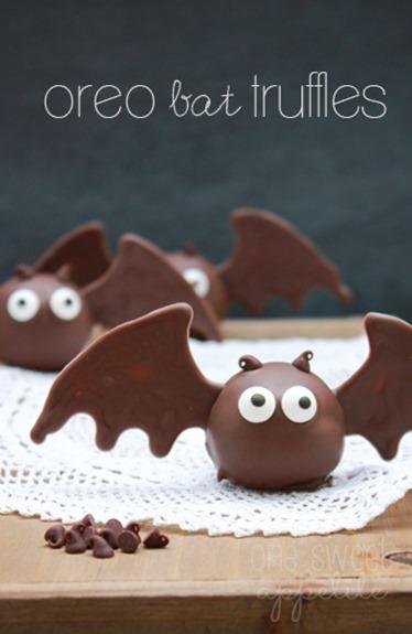 oreo bat truffles decorating ideas