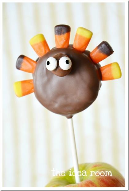 thanksgiving kids turkey treats