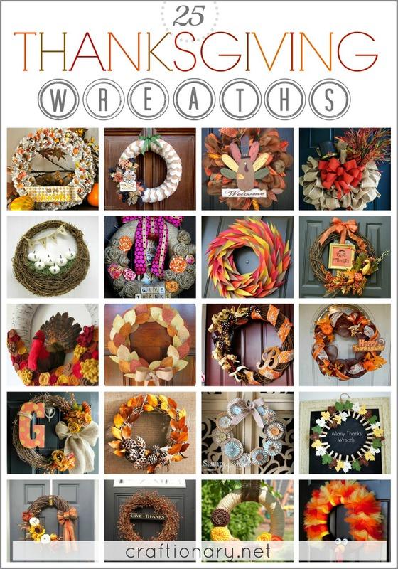 Best thanksgiving wreaths