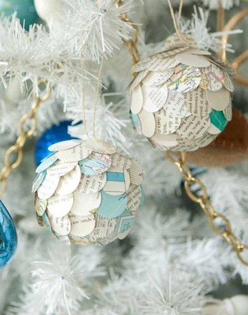 paper ornaments tutorial