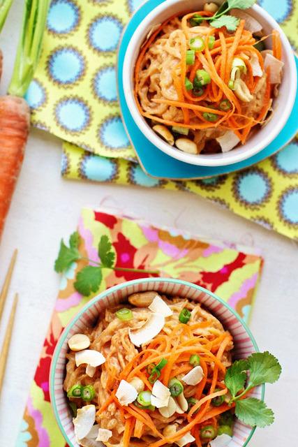 peanut butter thai spaghetti