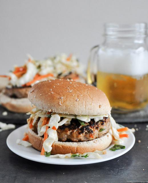 peanut butter thai burger