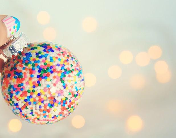 sprinkles ornaments