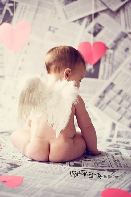 cupid baby photo