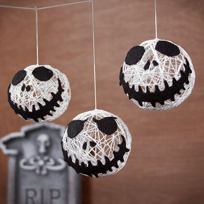 jack skellington halloween garland