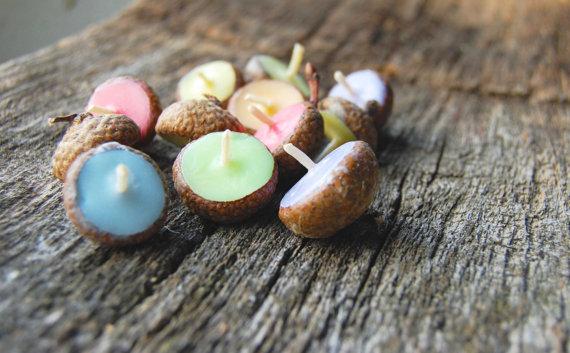acorn-cap-candles