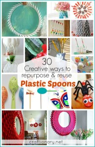 diy creative plastic spoon craft projects craftionary.net