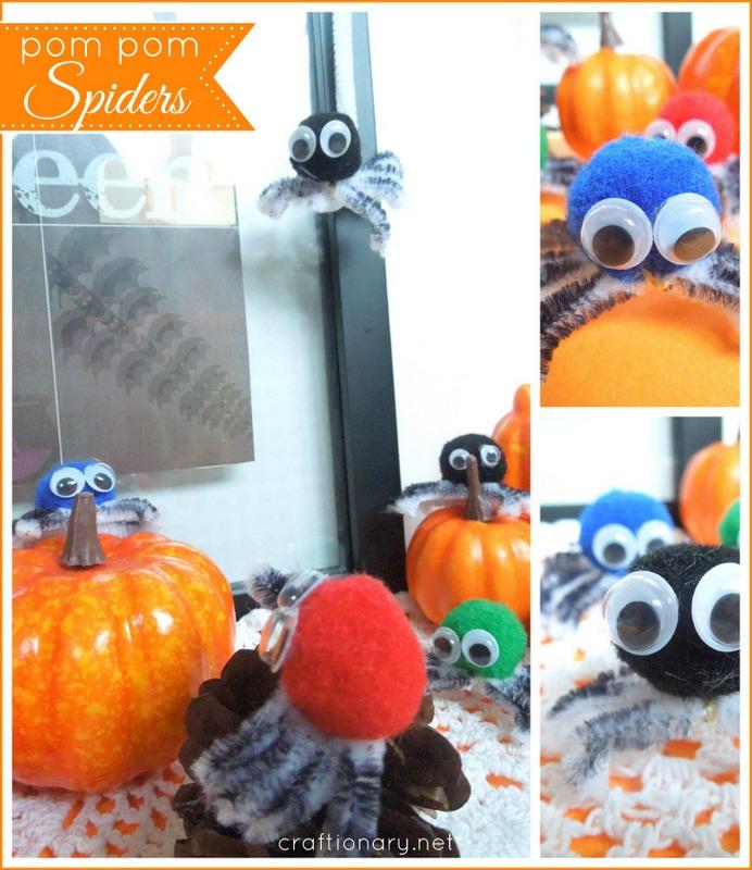 make diy spiders