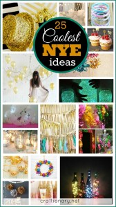 DIY coolest NYE ideas at craftionary.net
