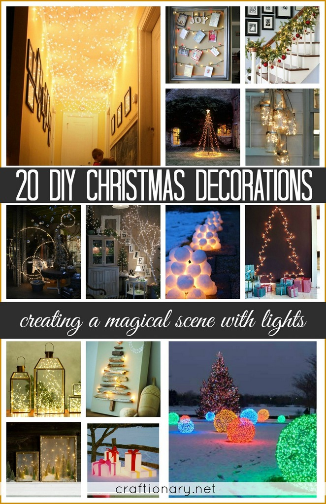 Decorating with lights - String light projects
